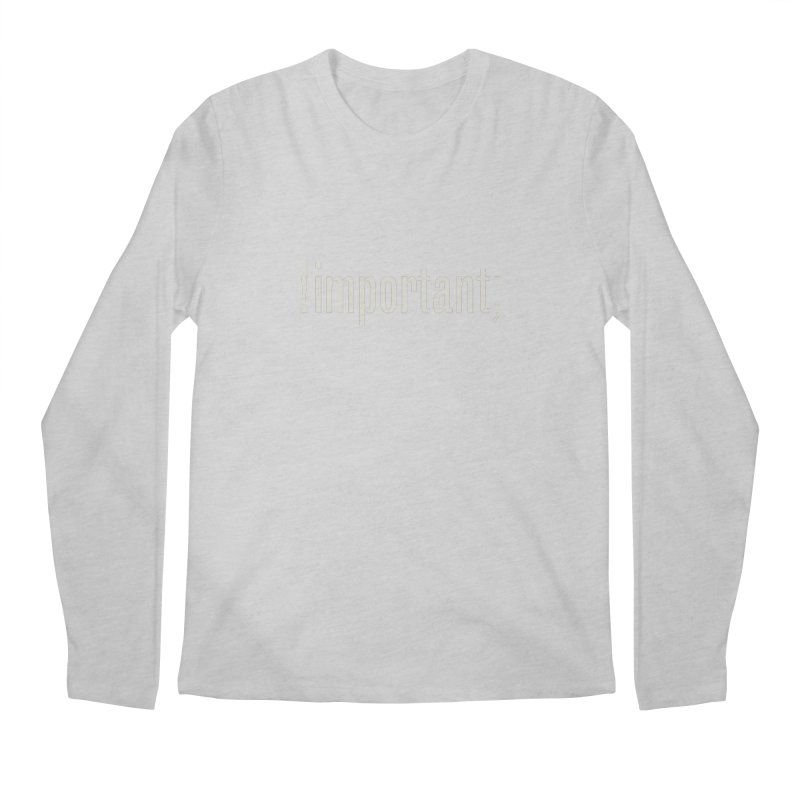 !important; Minimum Men's Longsleeve T-Shirt by Variable Tees