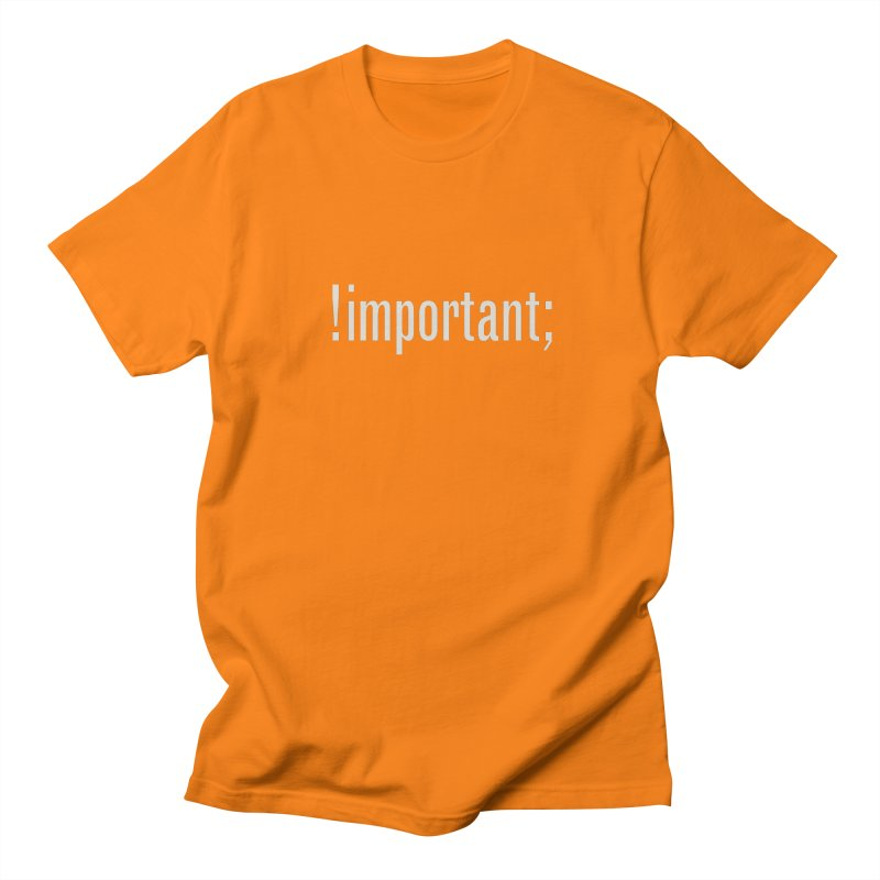 !important; Minimum Men's T-Shirt by Variable Tees