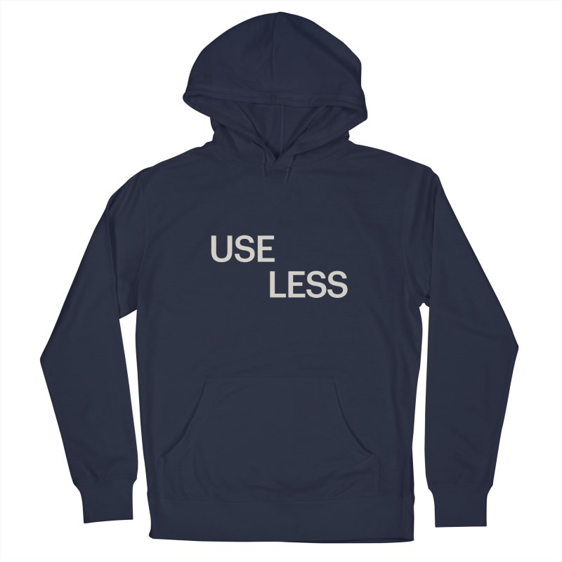Useless Void Women's French Terry Pullover Hoody by Variable Tees
