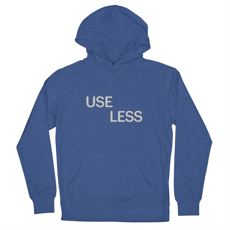Useless Void Men's French Terry Pullover Hoody by Variable Tees