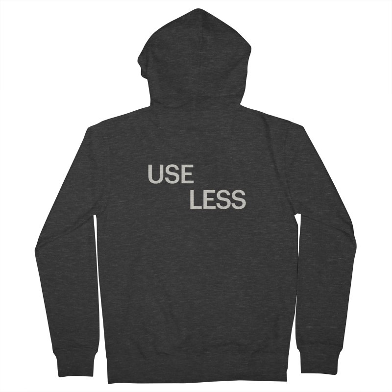 Useless Void Men's French Terry Zip-Up Hoody by Variable Tees