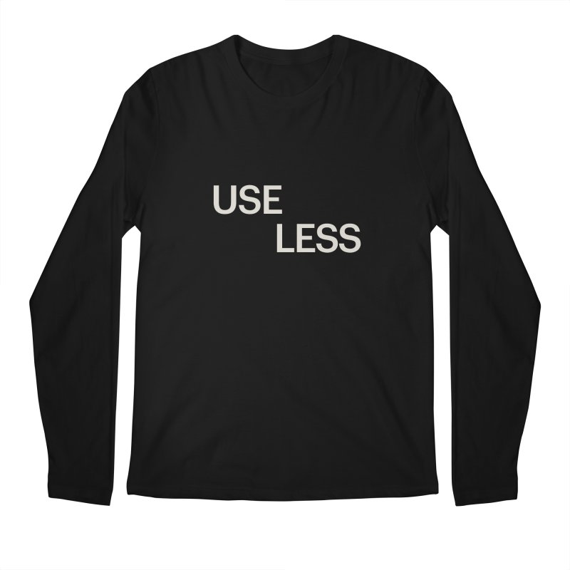 Useless Void Men's Longsleeve T-Shirt by Variable Tees