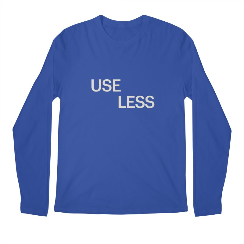 Useless Void Men's Regular Longsleeve T-Shirt by Variable Tees