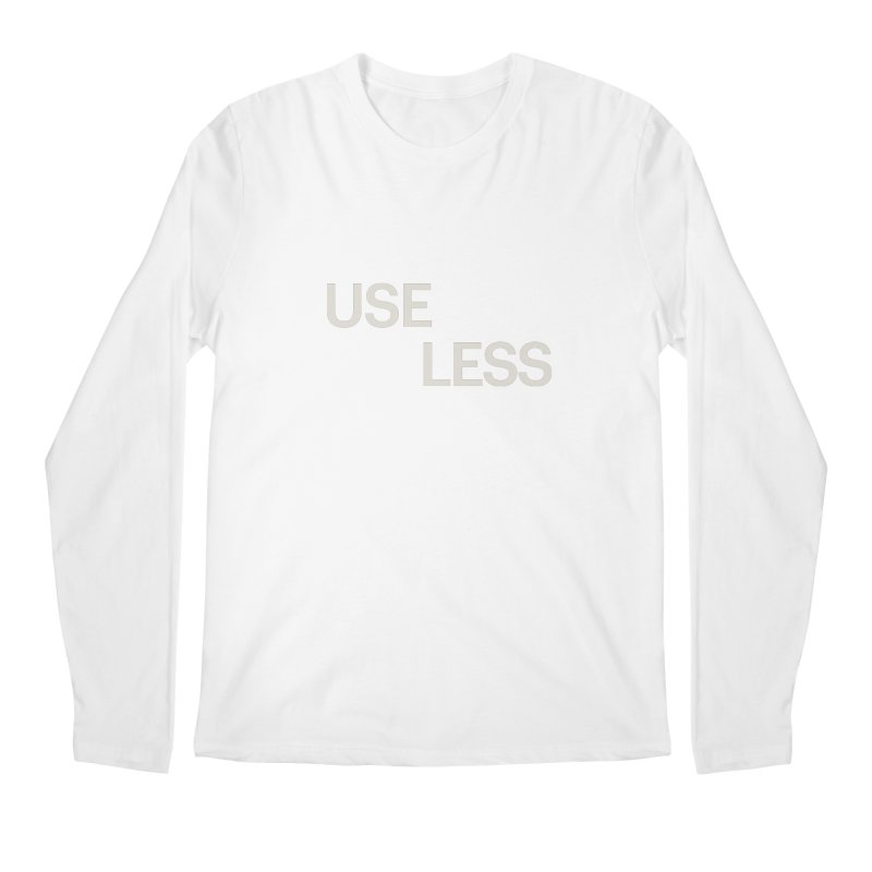 Useless Void Men's Longsleeve T-Shirt by Variable Tees