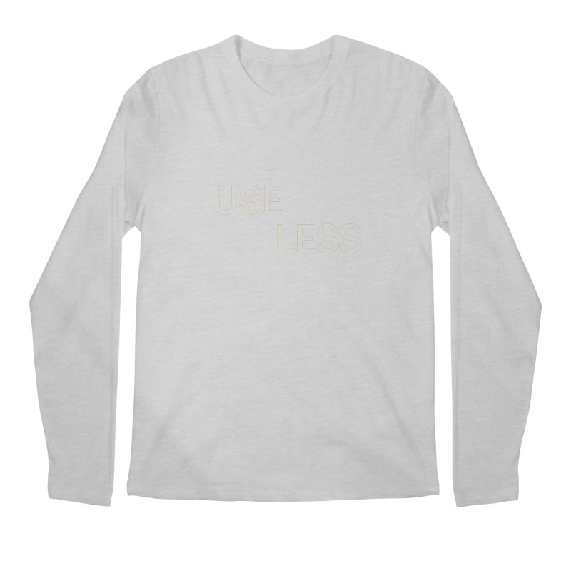 Useless Void Men's Regular Longsleeve T-Shirt by Variable Tees