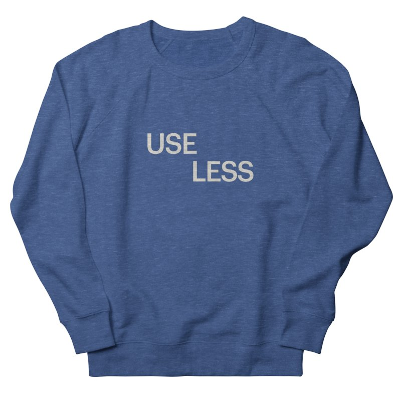 Useless Void Men's French Terry Sweatshirt by Variable Tees