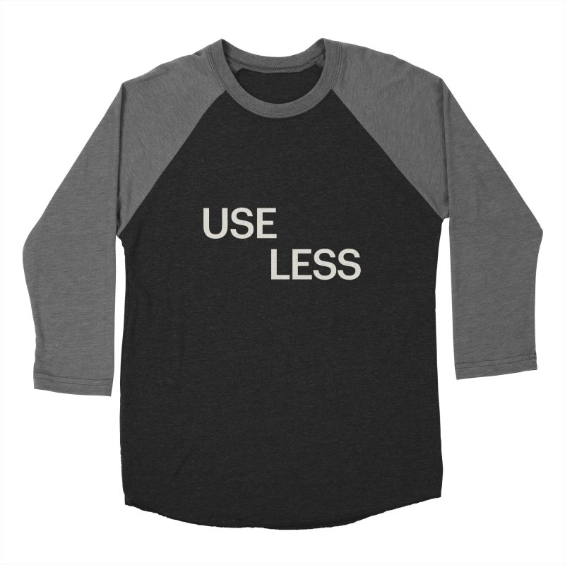 Useless Void Women's Baseball Triblend Longsleeve T-Shirt by Variable Tees