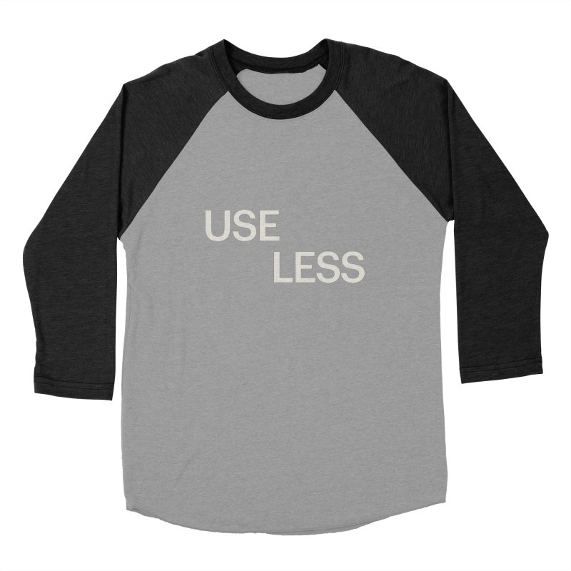 Useless Void Men's Baseball Triblend Longsleeve T-Shirt by Variable Tees
