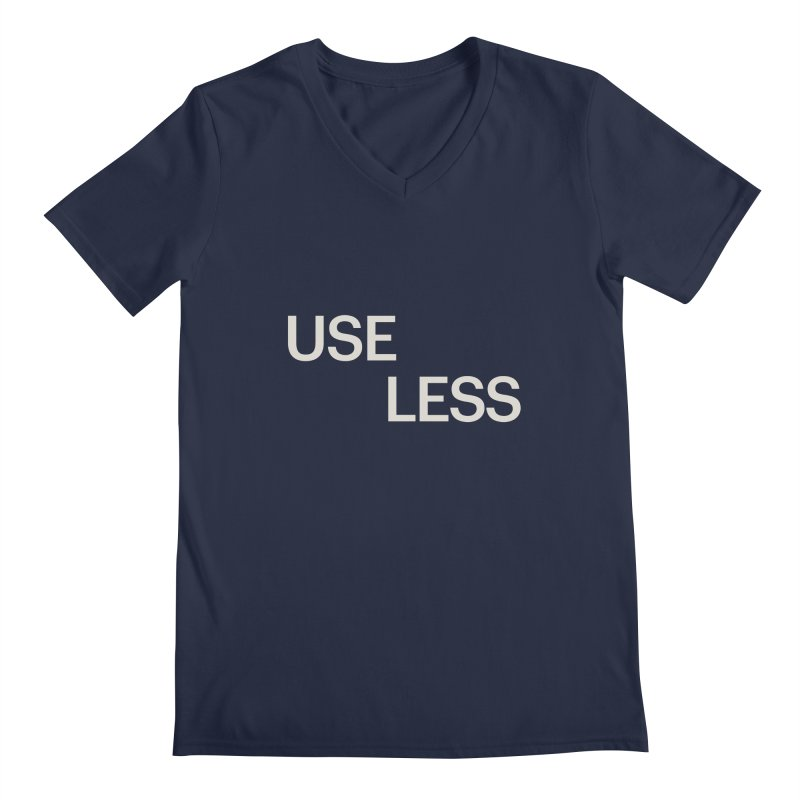 Useless Void Men's V-Neck by Variable Tees
