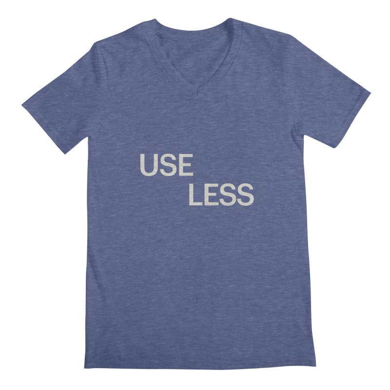 Useless Void Men's Regular V-Neck by Variable Tees