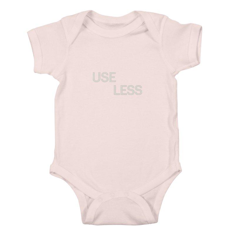 Useless Void Kids Baby Bodysuit by Variable Tees