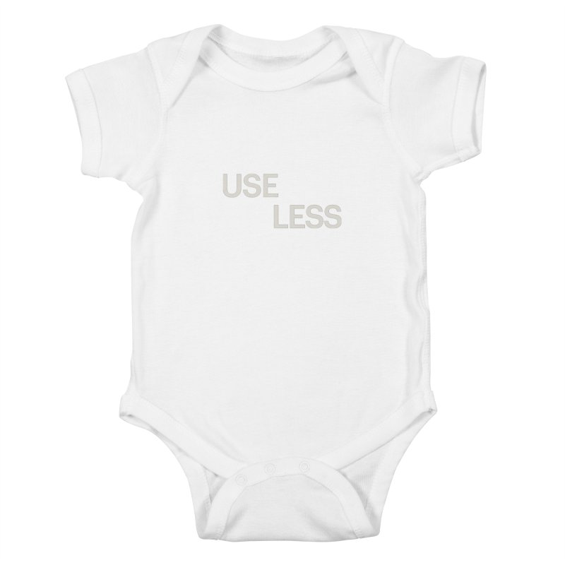 Useless Void Kids Baby Bodysuit by Variable Tees