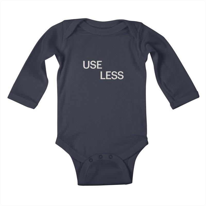 Useless Void Kids Baby Longsleeve Bodysuit by Variable Tees