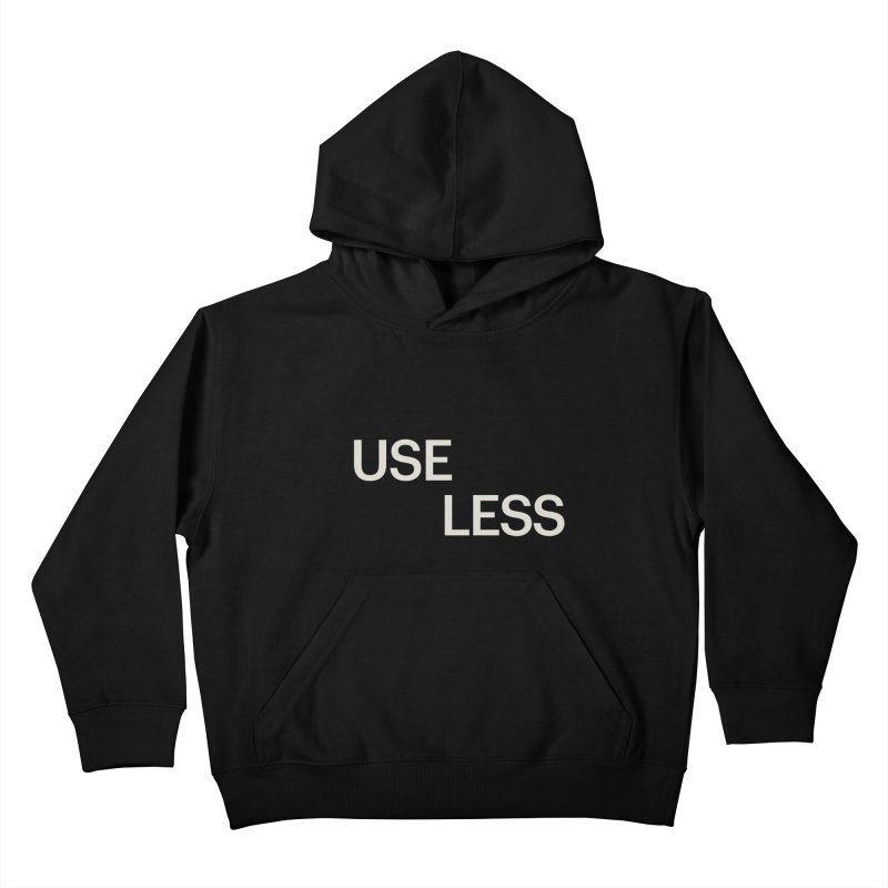 Useless Void Kids Pullover Hoody by Variable Tees