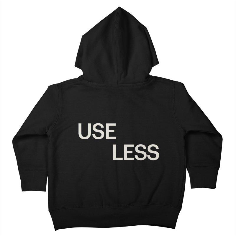 Useless Void Kids Toddler Zip-Up Hoody by Variable Tees