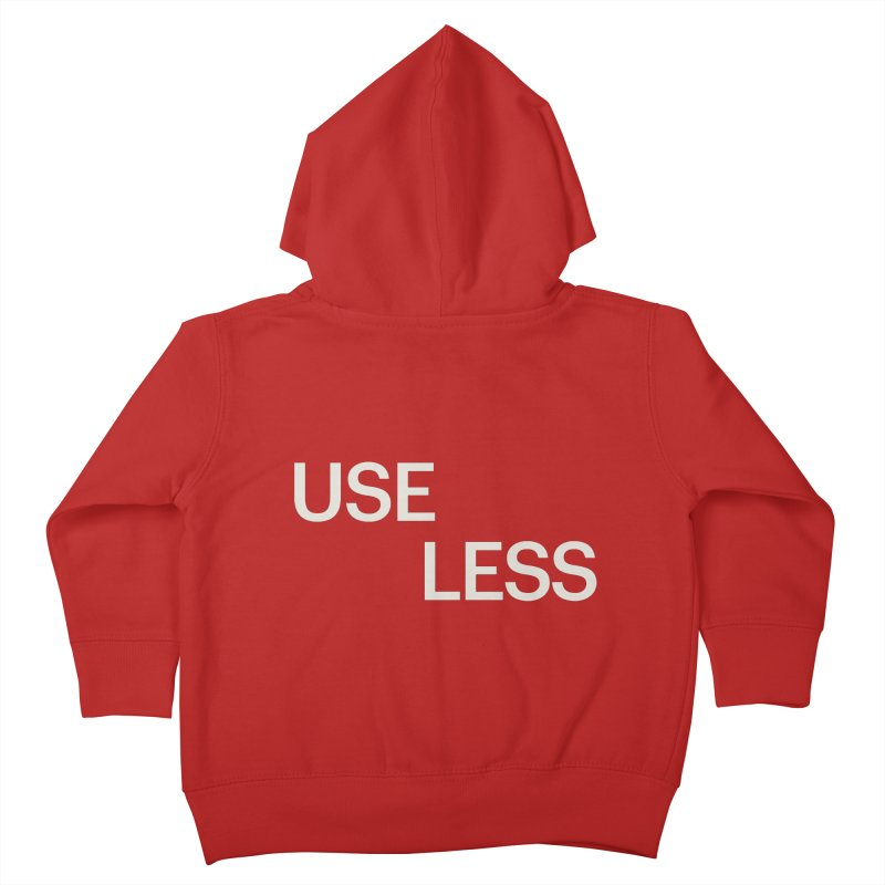 Useless Void Kids Toddler Zip-Up Hoody by Variable Tees