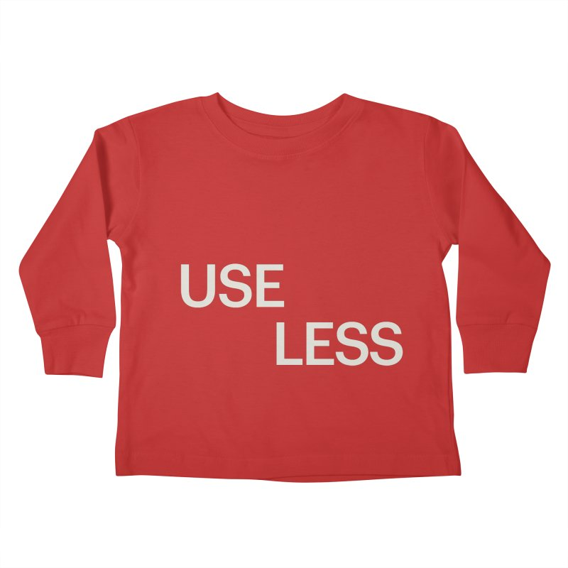 Useless Void Kids Toddler Longsleeve T-Shirt by Variable Tees