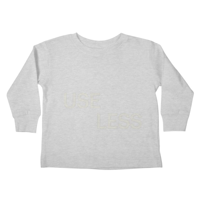 Useless Void Kids Toddler Longsleeve T-Shirt by Variable Tees