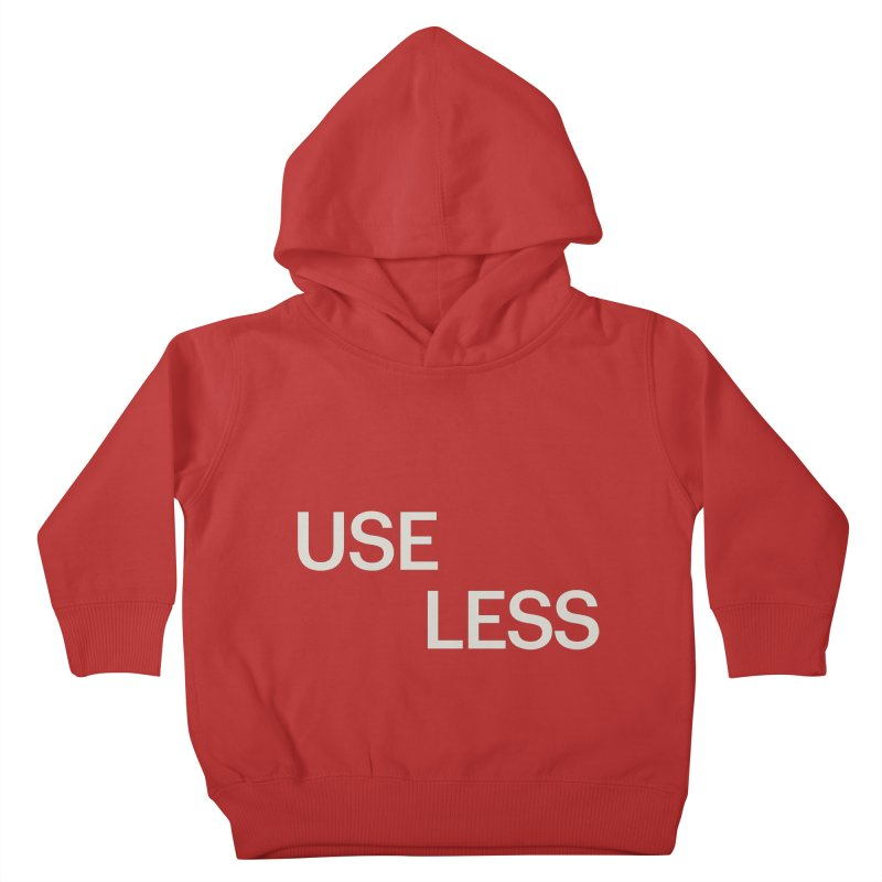 Useless Void Kids Toddler Pullover Hoody by Variable Tees