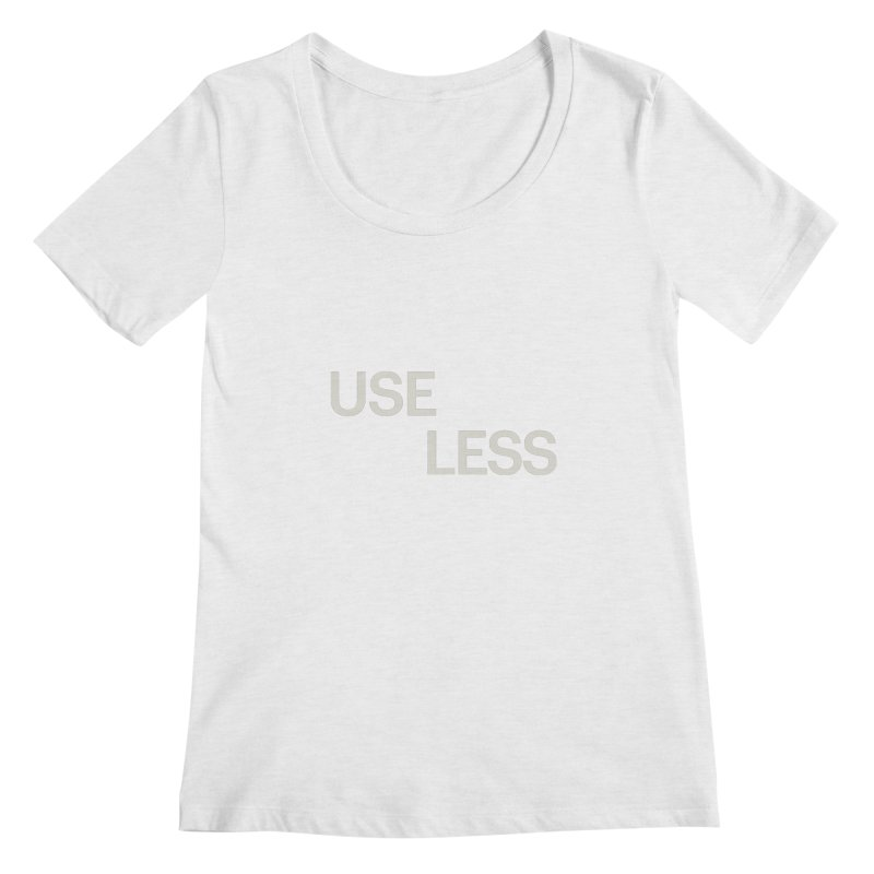 Useless Void Women's Scoopneck by Variable Tees