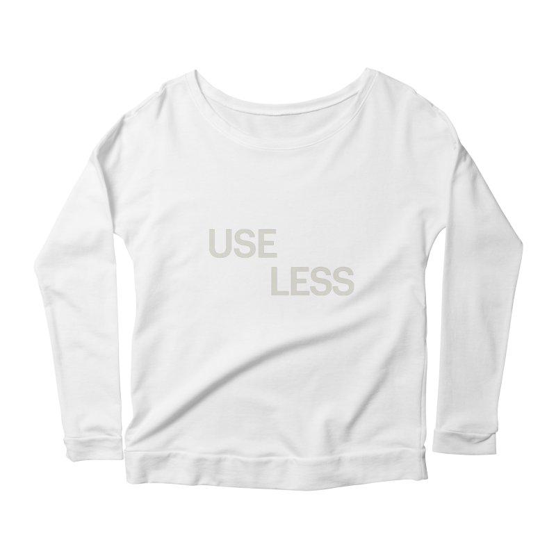 Useless Void Women's Scoop Neck Longsleeve T-Shirt by Variable Tees