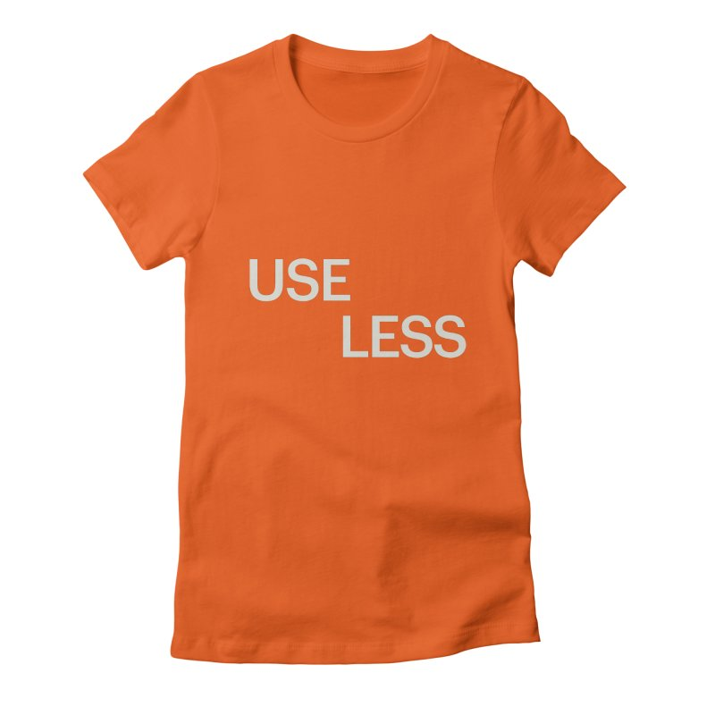 Useless Void Women's Fitted T-Shirt by Variable Tees