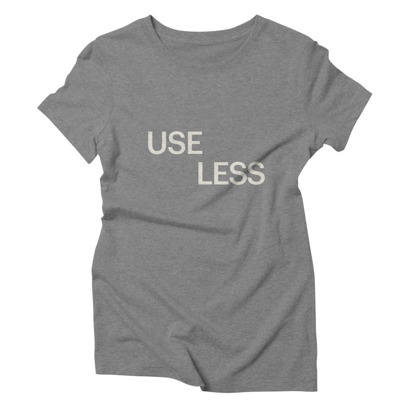 Useless Void Women's Triblend T-Shirt by Variable Tees