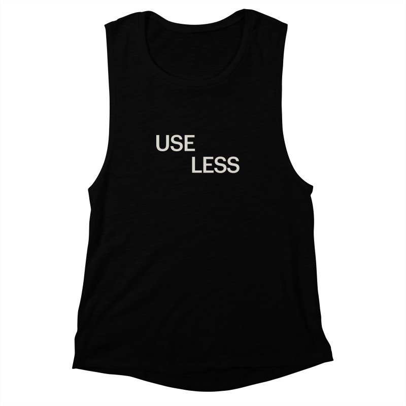 Useless Void Women's Muscle Tank by Variable Tees