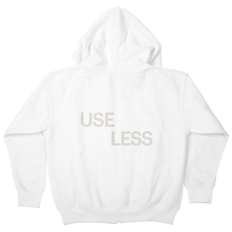 Useless Void Kids Zip-Up Hoody by Variable Tees