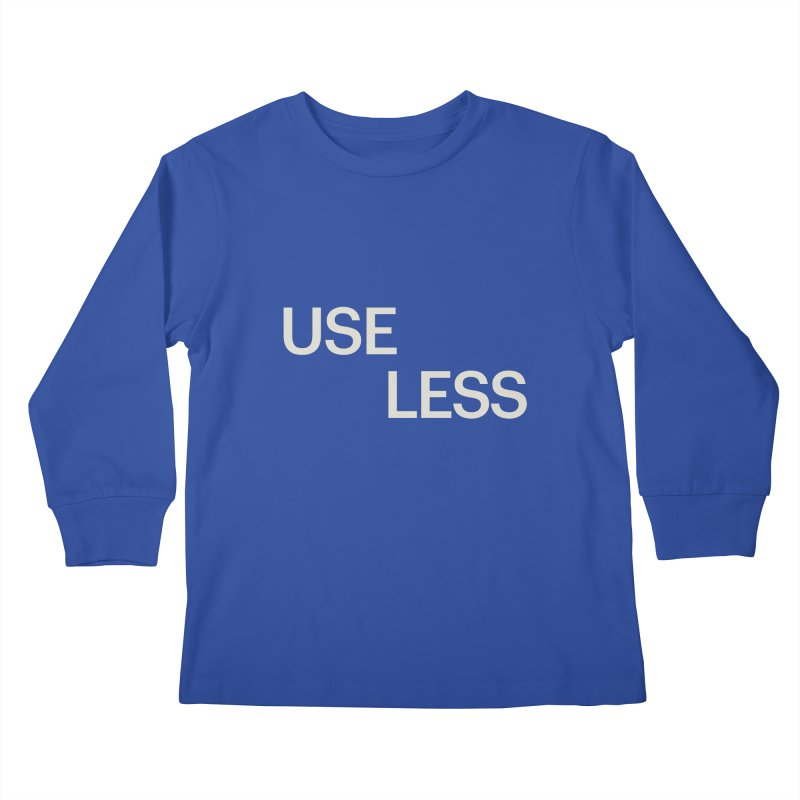 Useless Void Kids Longsleeve T-Shirt by Variable Tees