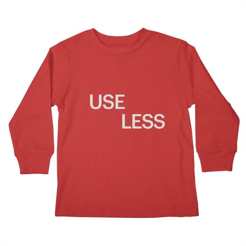 Useless Void Kids Longsleeve T-Shirt by Variable Tees