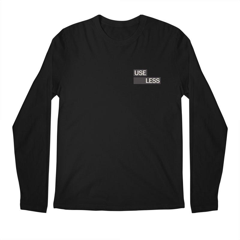 Useless Tag Men's Regular Longsleeve T-Shirt by Variable Tees