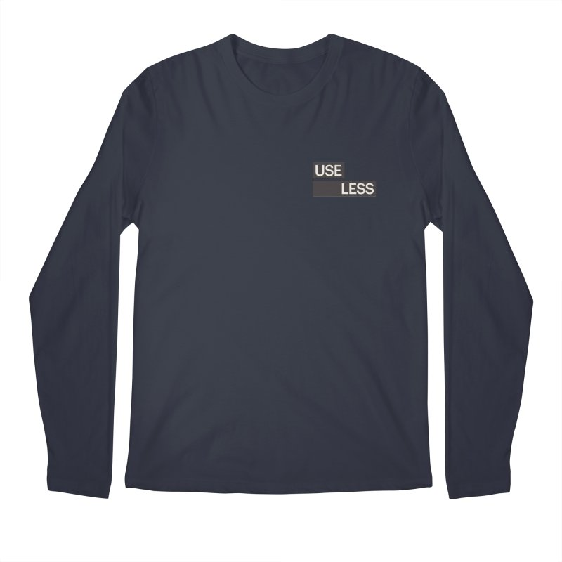 Useless Tag Men's Regular Longsleeve T-Shirt by Variable Tees