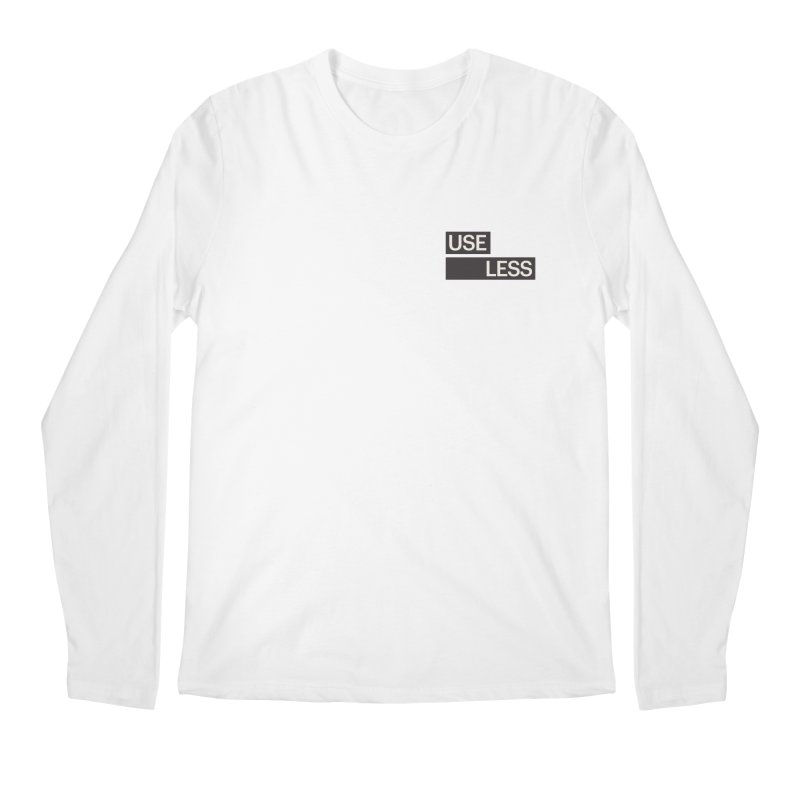 Useless Tag Men's Longsleeve T-Shirt by Variable Tees