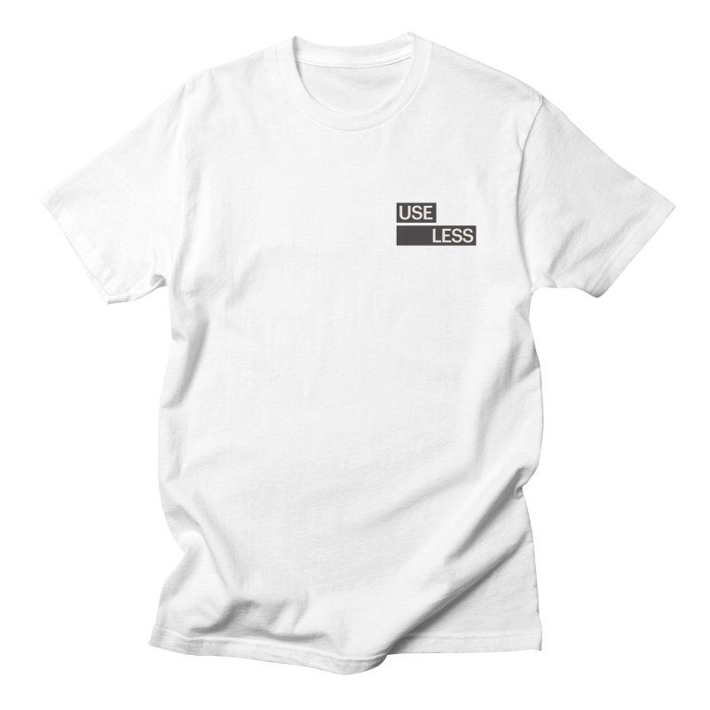 Useless Tag Men's Regular T-Shirt by Variable Tees