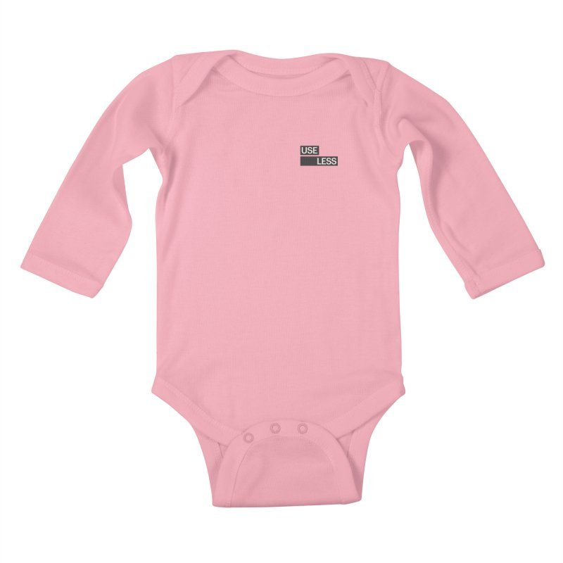 Useless Tag Kids Baby Longsleeve Bodysuit by Variable Tees