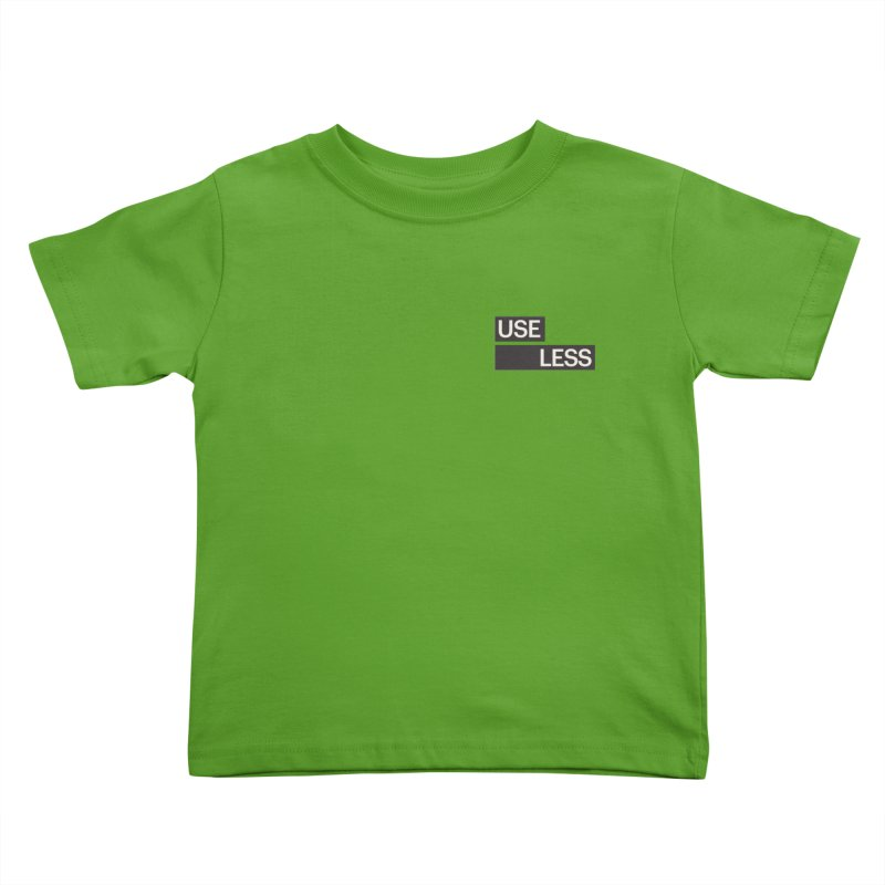 Useless Tag Kids Toddler T-Shirt by Variable Tees