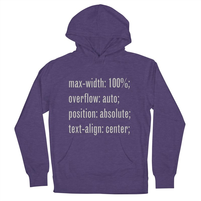 100% Absolute Women's Pullover Hoody by Variable Tees