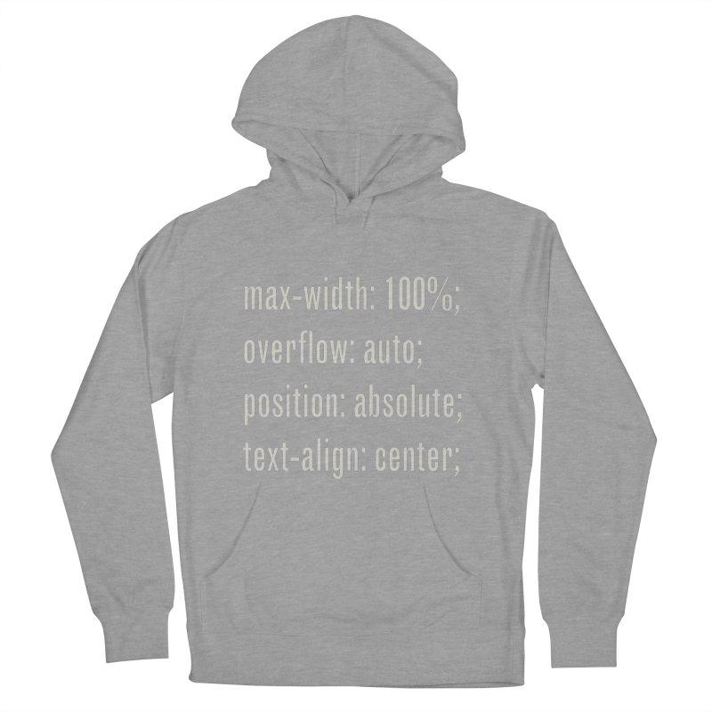 100% Absolute Men's Pullover Hoody by Variable Tees