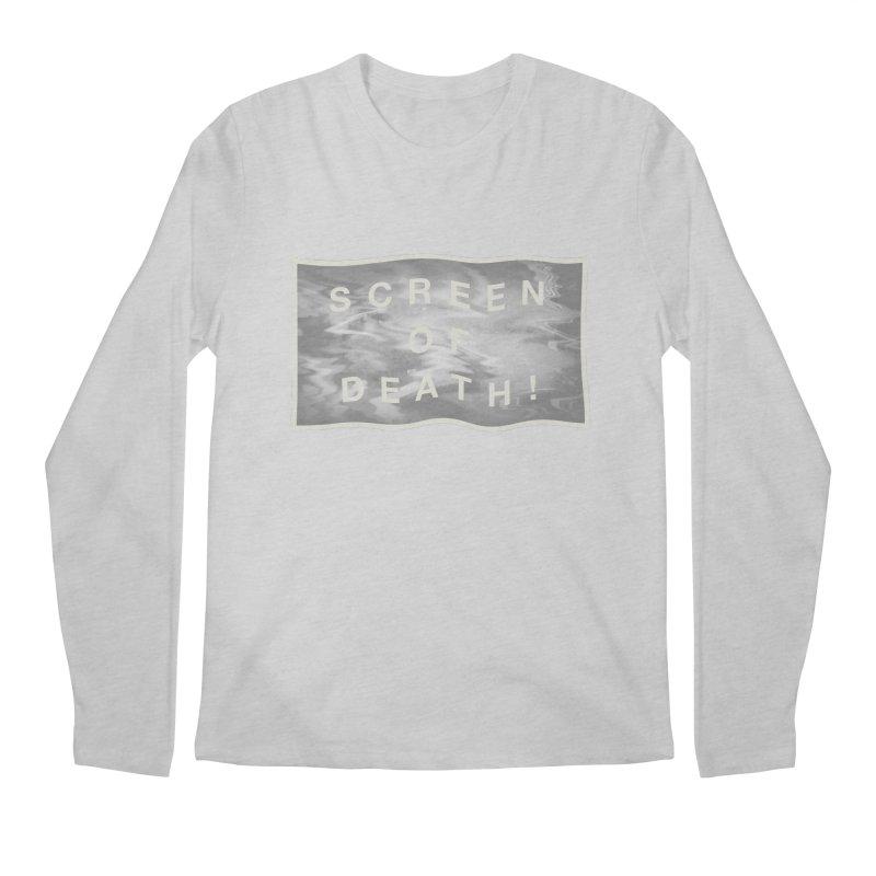 Screen of Death! Men's Regular Longsleeve T-Shirt by Variable Tees