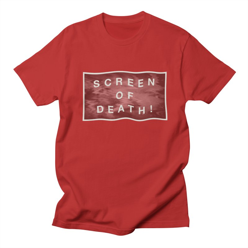 Screen of Death! Men's T-shirt by Variable Tees