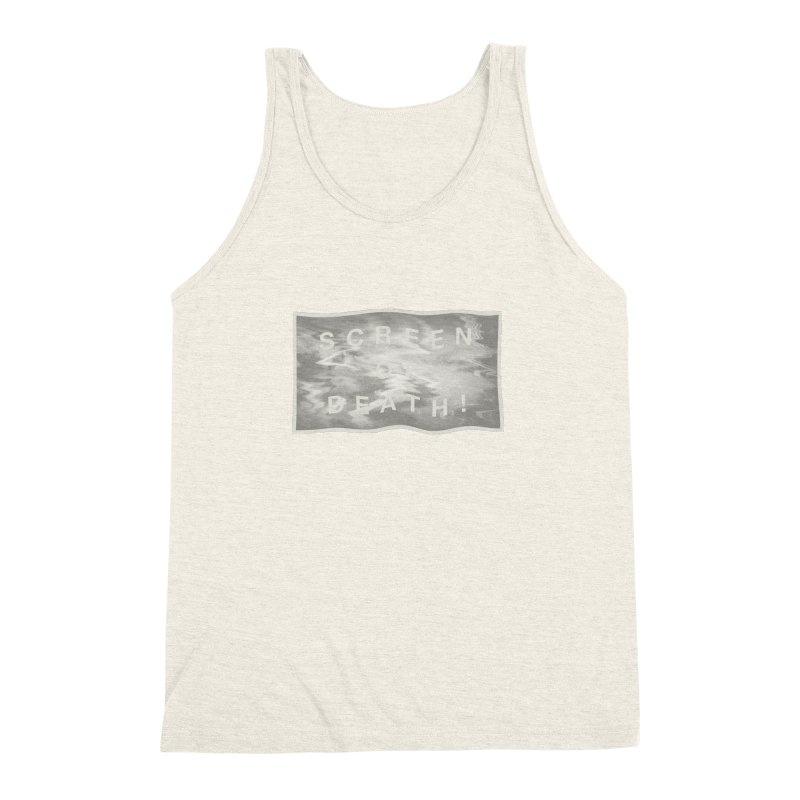 Screen of Death! Men's Triblend Tank by Variable Tees