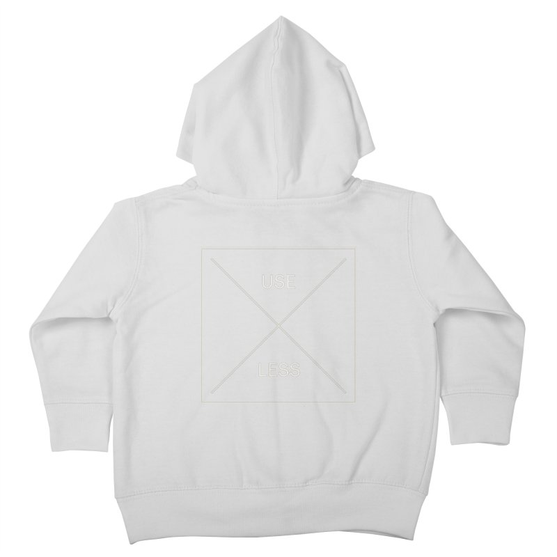 USELESS X Kids Toddler Zip-Up Hoody by Variable Tees