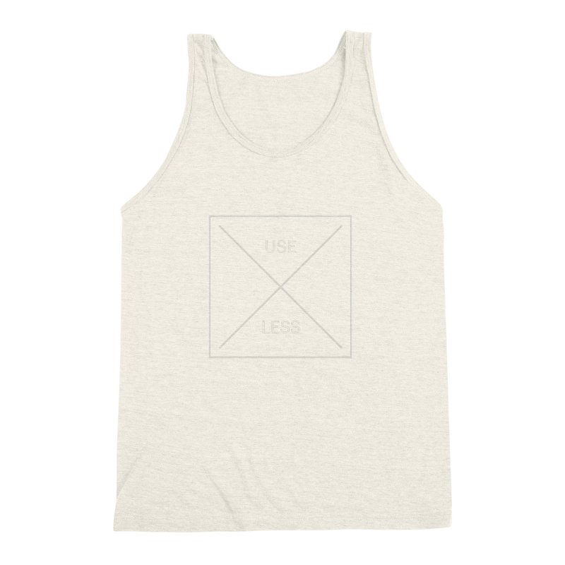 USELESS X Men's Triblend Tank by Variable Tees