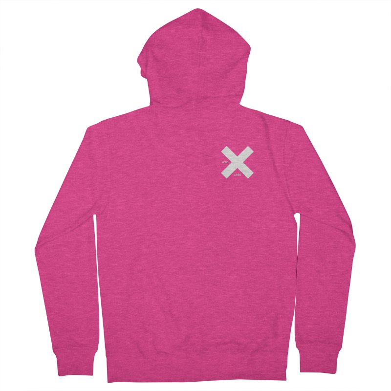 USE LESS X Women's French Terry Zip-Up Hoody by Variable Tees