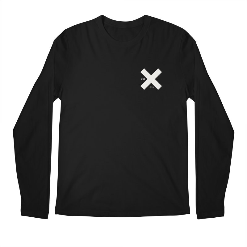 USE LESS X Men's Regular Longsleeve T-Shirt by Variable Tees