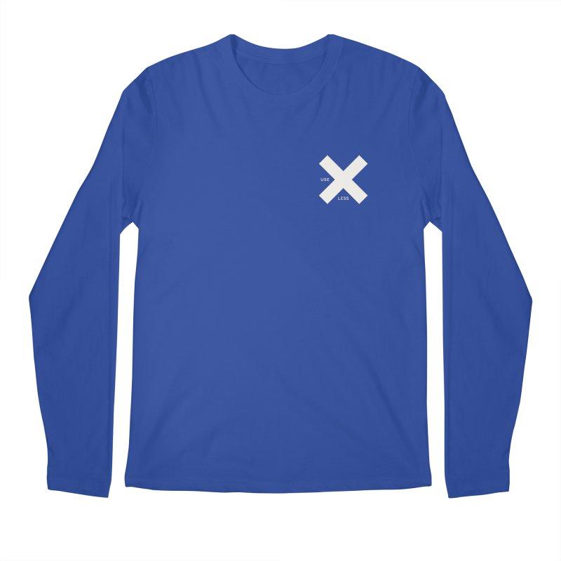 USE LESS X Men's Regular Longsleeve T-Shirt by Variable Tees