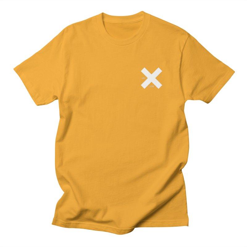 USE LESS X Men's Regular T-Shirt by Variable Tees