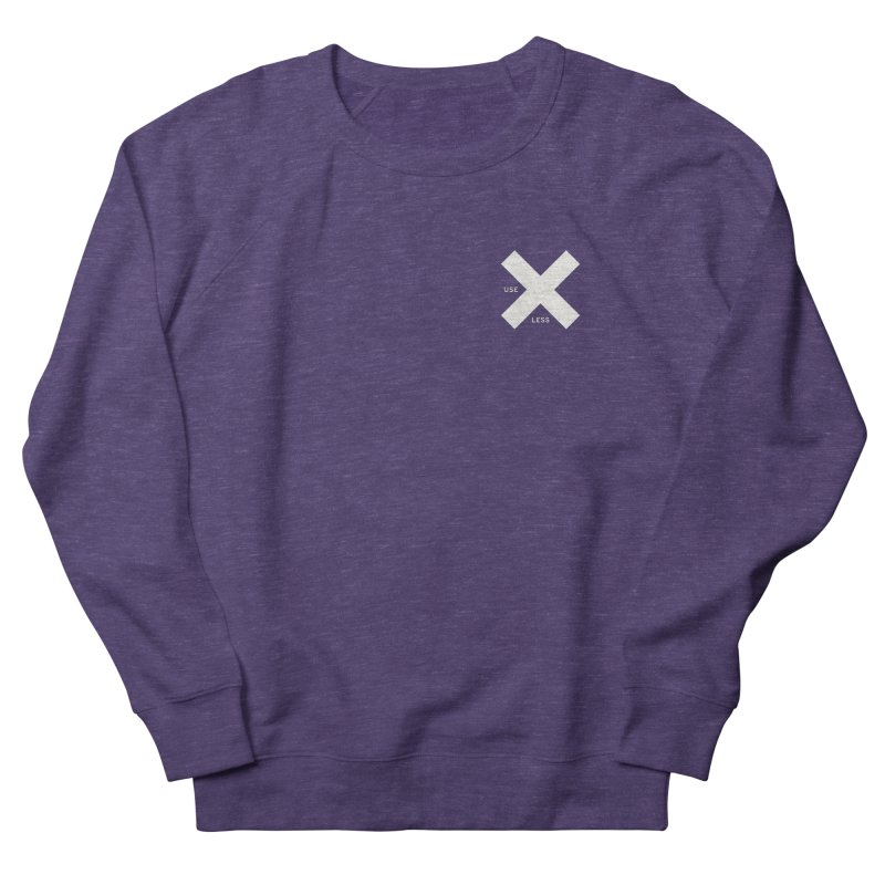 USE LESS X Women's French Terry Sweatshirt by Variable Tees