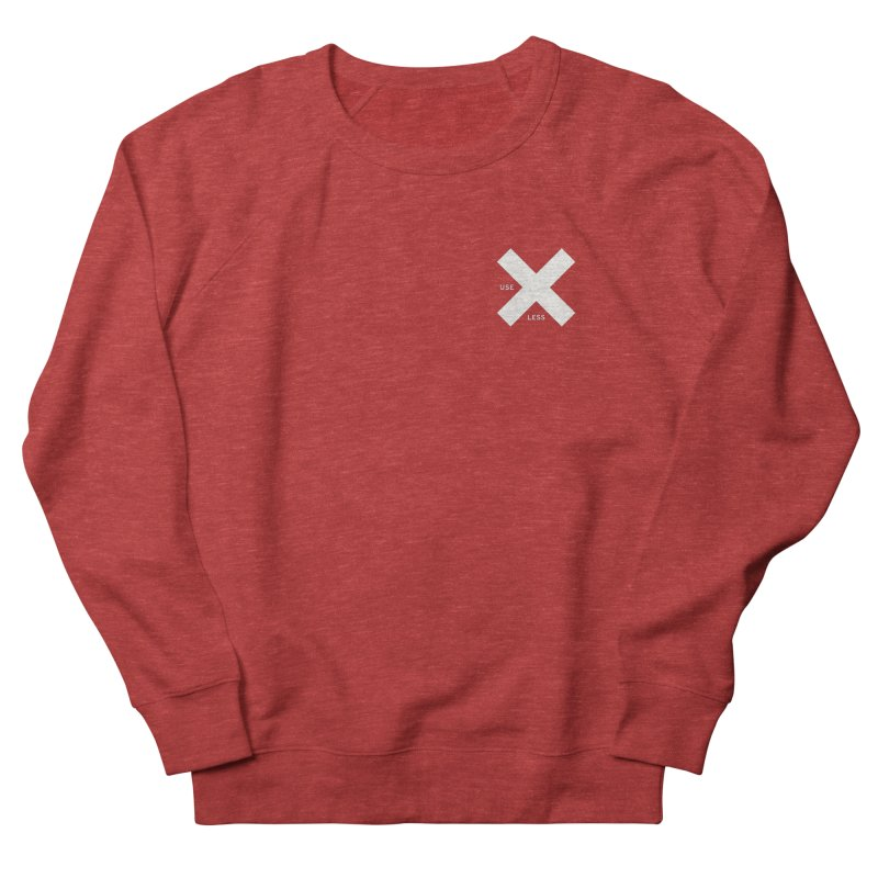 USE LESS X Women's Sweatshirt by Variable Tees